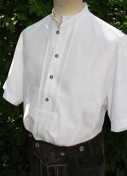 """Herrenhemd """"Pfoad"""", kurzarm, Stehkragen, weiß, Arido"""