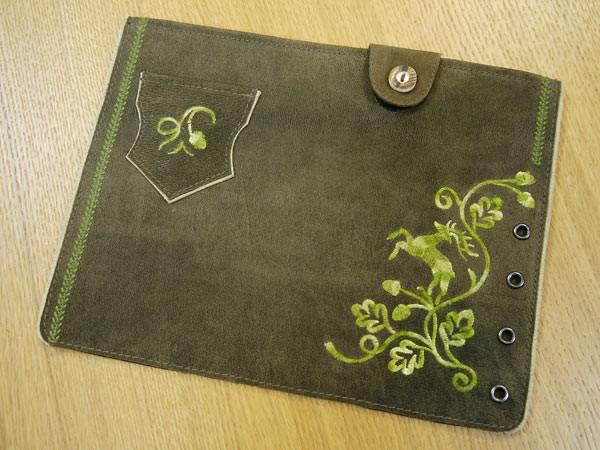 iPad-Tasche Nubuk
