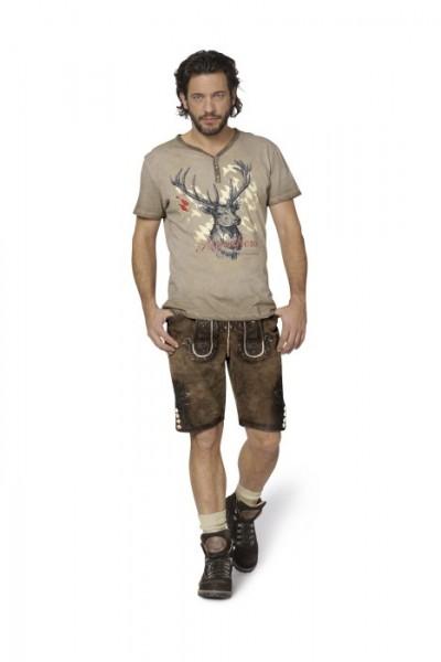 """Trachten T-Shirt """"Feli"""" sand, Stockerpoint"""