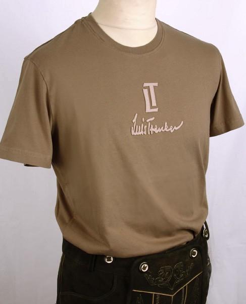 "Shirt ""Luis Trenker"" kurzarm, khaki"