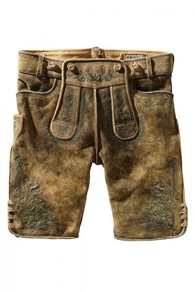 """Kurze Lederhosen """"Muck"""" hanf gespeckt mit H-Träger von Stockerpoint"""