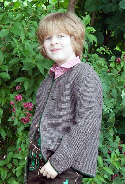 Strickjacke für Kinder 47088 in mode, Isar Trachten