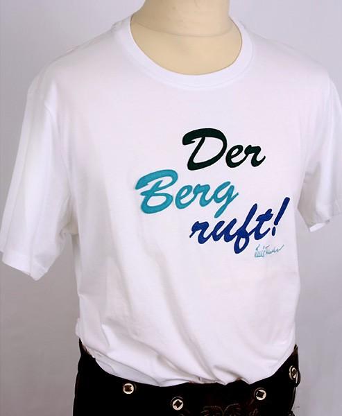 """Shirt """"Der Berg ruft"""" Luis Trenker, kurzarm"""