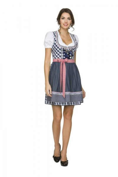 "Dirndl ""Kitty"" von Stockerpoint in marine"