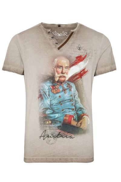 """Trachten-Shirt """"Franz"""" in beige, Hangowear"""