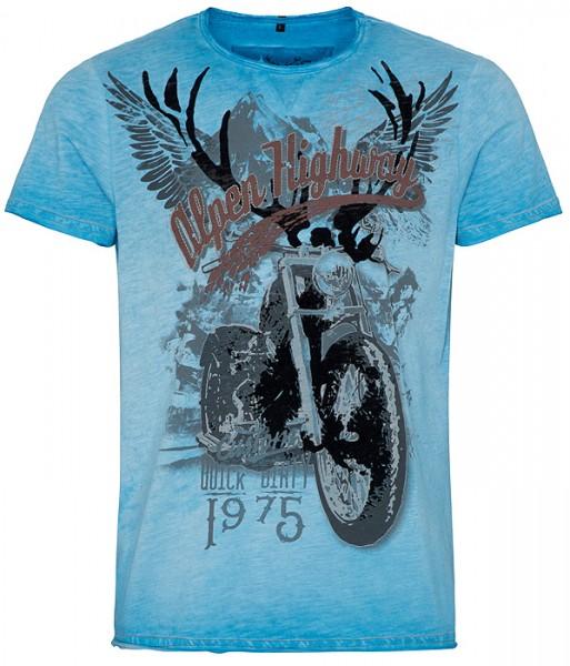 """Herren-T-Shirt """"Till"""" blau, hangOwear"""