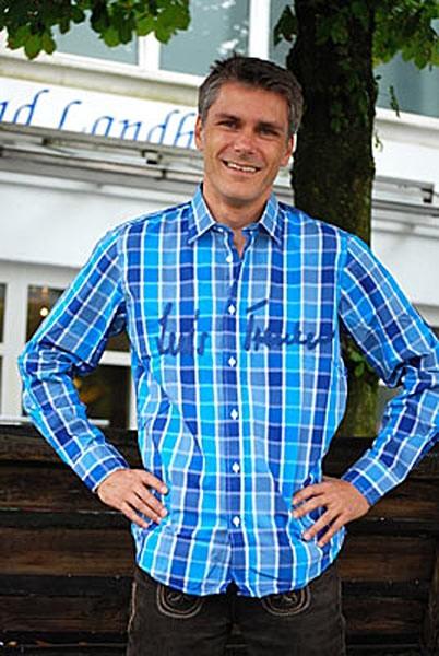 "Trachtenhemd ""Berry"" blau-hellblau, Luis Trenker"