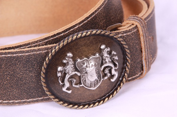 Trachtengürtel, Antikoptik, Bayern-Wappen