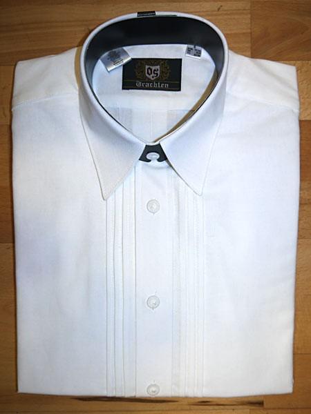 Trachtenhemd mit bayerischem Wappen OS-Trachten