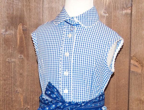 Hübsche Bluse zum 2-teiligen Trachtenkleid für die kleinen Madl, Isar Trachten