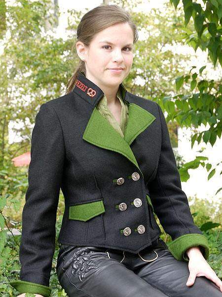 "Damenjacke ""Florinda"" schwarz, Angie Miller"