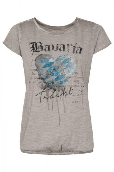 "Trachtenshirt ""Inka Bavaria"" in hellgrau, hangOwear"